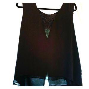Black BCBG blouse